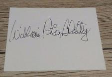 William Peter Blatty (+ 2017) Autogramm / Der Exorzist / original signed