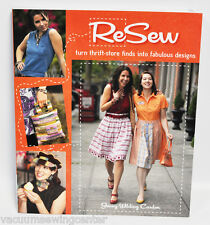 Resew By Jenny Wilding Cardon Fashion Design Book
