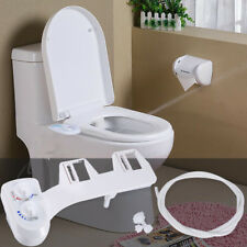 Fresh Water Spray Hot/Cold Water Non-Electric Mechanical Bidet Toilet Seat