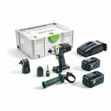 Festool PDC18/4 Li 5,2-Set 18 V Sans Fil Combi Perceuse GB Percussion Perceuse 5...