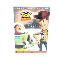 Disney's Pixar Toy Story The Ultimate Toy Box DVD Collectors Edition 3 Disc Set