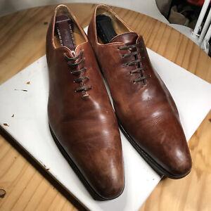 Thomas Bird Benson Wholecut Leather Oxford Dress Quality Shoes Italian 43 US 10