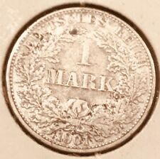 Germany 1901-A, 1 Mark Silver Coin