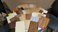 Box of wood veneer offcuts. Great for crafts, models, hobbies, marquetry  - 180