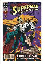 SUPERMAN: THE MAN OF STEEL # 42 (LOVE BITES! Mar 1995), VF/NM
