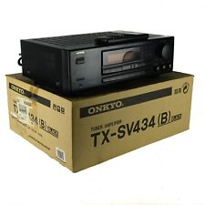 ONKYO TX-SV434 5.1 Channel RECEIVER Tuner Amplifier Audio Video Control Black