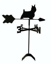 norwich terrier  roof weathervane black wrought iron look made in usa TLS1053RM