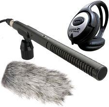 Rode NTG-2 Mikrofon + Deadcat Windschutz + Keepdrum Kopfhörer