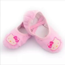 Hellokitty Ballet Shoes Dance Shoes for Girl Women Pink Yoga Soft Shoes Dress