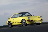 """1972 PORSCHE 911 CARRERA A3 CANVAS GICLEE ART PRINT POSTER 16.5"""" x 11.7"""""""