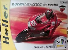 Heller 71263 80910 50910 1:12th scale Ducati Desmosedici Bike & Figure Capirossi