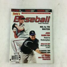 May 30 2009 Baseball Magazine Josh Hamilton Road to Redemption A Fanciful Trip