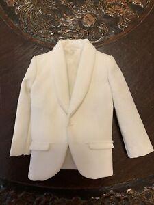 Vintage Barbie Ken ALLAN Best Man #1425 White Suit Jacket Excellent Condition!