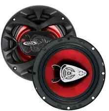 Car Speakers 6.5-Inch 3-Way Audio Systems 300 Watts Pair Rear or Door Speakers