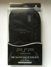 BRAND NEW PSP CONSOLE OFFICIAL SONY CASE - SONY PSP - RARE BLACK