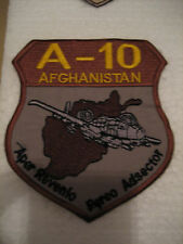 USAF 455th Expeditionary A-10 Afghanistan Aper Revenio Pereo Adsector OEF Patch