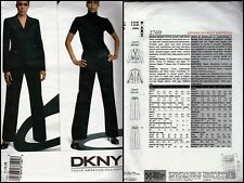 SEWING PATTERN VOGUE  DKNY PETITE JACKET & TROUSERS  2769  SIZE: 14,16,18  UNCUT