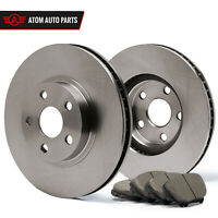 (Rear) Rotors w/Ceramic Pads OE Brakes (Fits 2004 2005 2006 2007 Impreza)