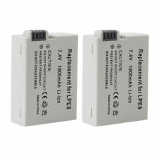 LP-E8 Camera Battery For  Canon EOS Rebel T2i T3i T4i T5i 700D 550D 600D 2pcs