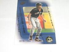 2001 SPx Tsuyoshi Shinjo Rooke Card #/2000