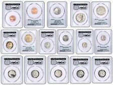 2017-S Enhanced Uncirculated Coin Set PCGS SP70 ANA DENVER FDOI THOMAS CLEVELAND