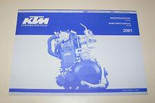 Teilekatalog Motor KTM 620 - Modelljahr 2001!