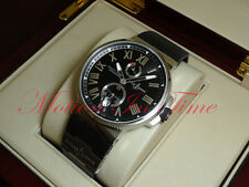 Ulysse Nardin Marine Chronometer Manufacture 45mm Stainless Steel 1183-122-3/42