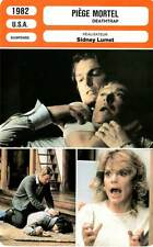 FICHE CINEMA : PIEGE MORTEL - Caine,Reeve,Cannon,Lumet 1982 Deathtrap