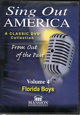SING OUT AMERICA VOLUME 4 THE FLORIDA BOYS (DVD) Music Videos