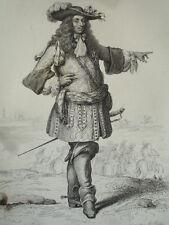SIÈCLE DE LOUIS XIV / GRAVURE 1840 / CONDÉ