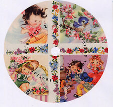 Collection of Cuties  Vol 2  CD  Vintage Greeting Card Images