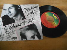 "7"" NDW Joachim Witt - Goldener Reiter / Mein Schatten (2 Song) WEA / Formel D"