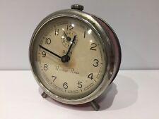 Used - Despertador Antiguo DUN Alarm Clock - Steel Acero - 93 mm - NOT WORKING