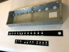 Deluxe  Reverb- chassis with faceplates finished