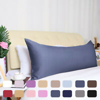 Zippered Silky Satin Body Pillow Cover Long Pillow Cases Covers