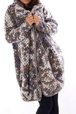 Manteaux et vestes gris en laine pour femme, taille 42