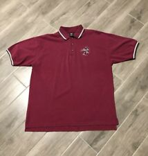 Vintage 1997 90s Warner Bros Yosemite Same Wild E. Cayote Golf Polo Shirt Large