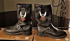 VTG Harley Davidson Motorcycle Boots Size 9 Barely Worn Excellent N
