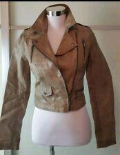 Lipsy Women's  Brown Faux Leather Bicker  Size 8