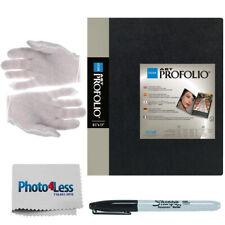 Itoya Art Profolio Original Storage Book (14 x 17) + Gloves + Sharpie + Cloth