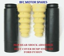 FORD FIESTA/FUSION 2002 - ON REAR SHOCK ABSORBER DUST COVER BUMP STOP KIT NEW!!