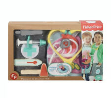 Fisher-Price Patient and Doctor Kit Pretend Doctor Play Set 9 Pieces