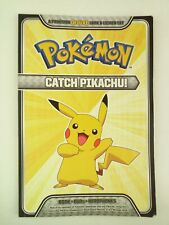 Catch Pikachu! A Deluxe Pokemon Look and Listen Set by Pikachu Press 2012