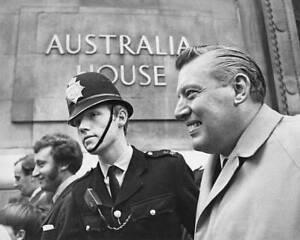 The Reverend Ian Paisley Australia 1970 OLD PHOTO
