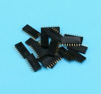 100Pcs/lot 2.54mm Pitch 8 Pin Female Single Row Straight Header Strip 1*8P New