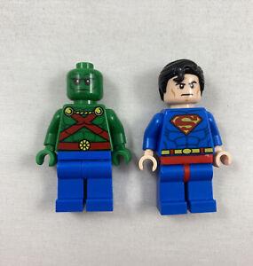 LEGO Super Heroes Minifigure Martian Manhunter and Superman - set 76040