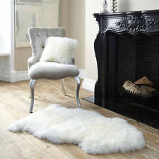 Sheepskin rug with patch 90-95cm*55cm LARGE