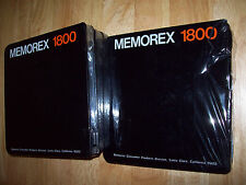 4 BRAND NEW Memorex 1800 Blank REEL TO REEL Recording Tape 1.0 X 1800' SEALED A+