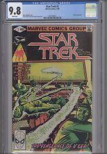 Star Trek #2  CGC 9.8 1980  Marvel Comic: NEW Frame