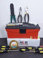 Lot of Various Tools & KETER Tool Box